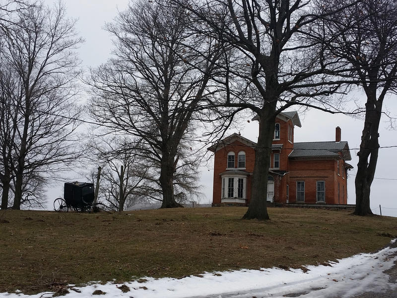The old estate of the Royal Watkins family. The Watkins family helped escaped slaves to freedom.
