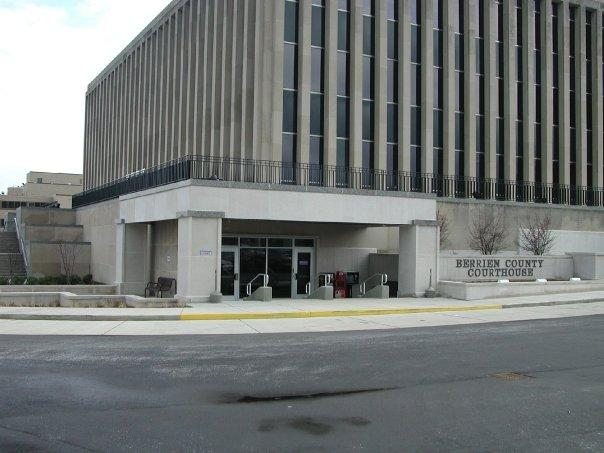 The Berrien County Courthouse.