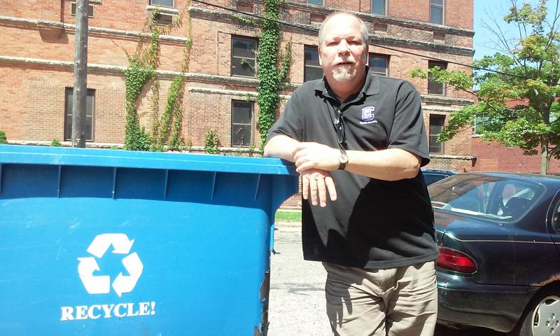 Bryan Weinert told us Michiganders are throwing away some $350 million worth of recyclable material every year
