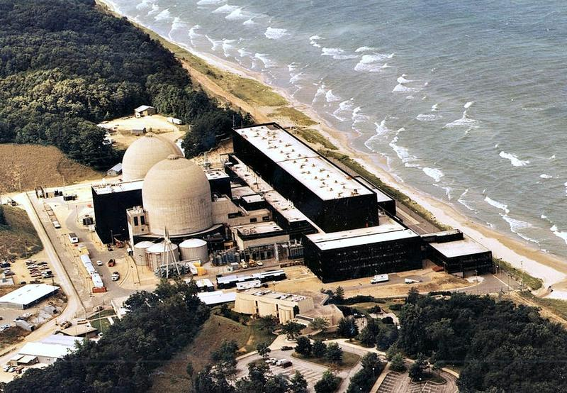 Cook Nuclear Plant in southwestern Michigan