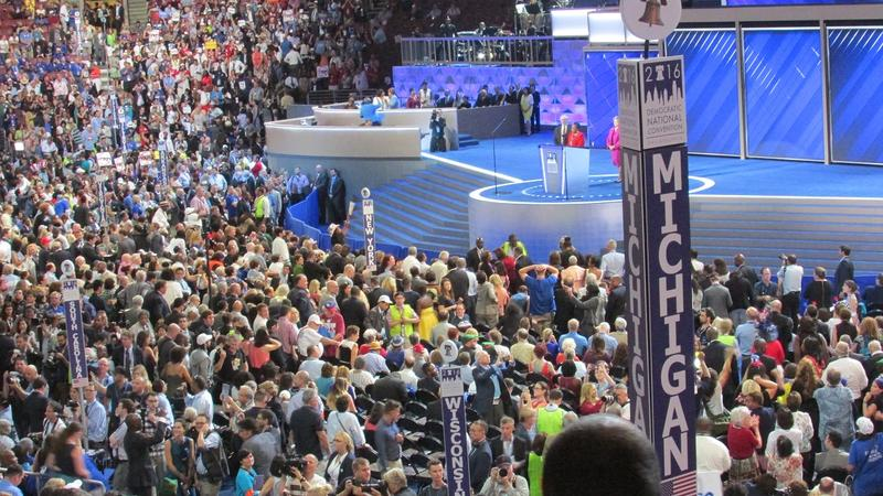 The 2016 Democratic National Convention is underway in Philadephia