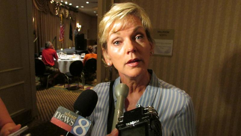 Former Michigan Gov. Jennifer Granholm expects the Democratic Party will be united (or at least be on the way to being united) by the end of the DNC