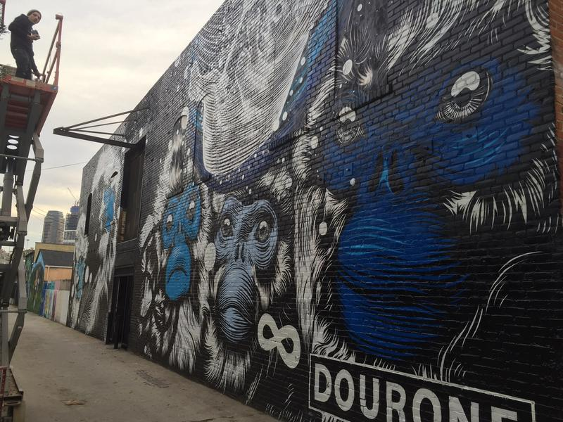 Mural by artist Dourone