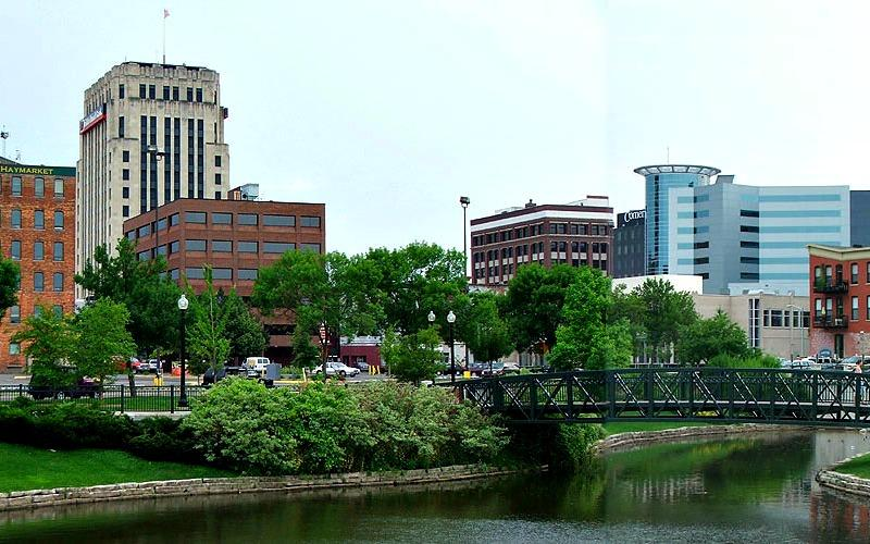 The city of Kalamazoo