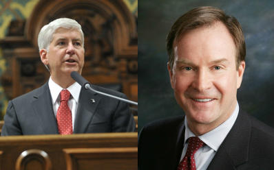 """They have kind of a history of backing away from each other,"" Howes said of Snyder and Schuette."