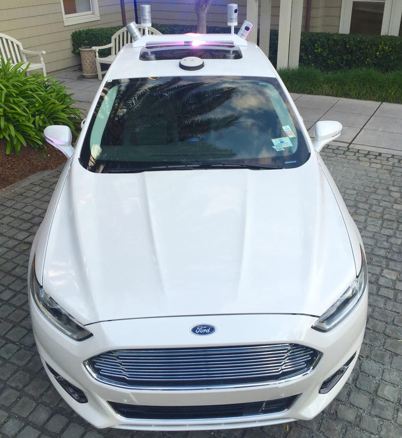 Ford Autonomous Test Vehicle
