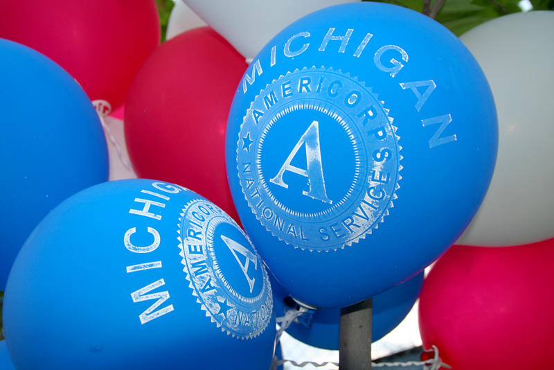 In the 20 years since AmeriCorps started, more than 28,000 Michigan volunteers have contributed over 41 million hours of service.