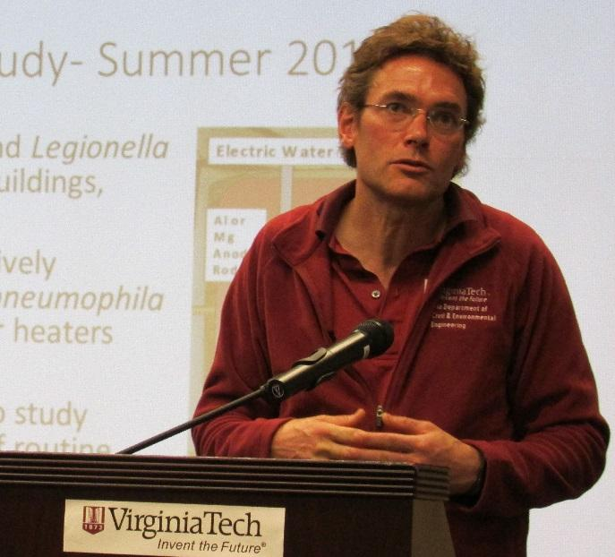 Dr. Marc Edwards of Virginia Tech