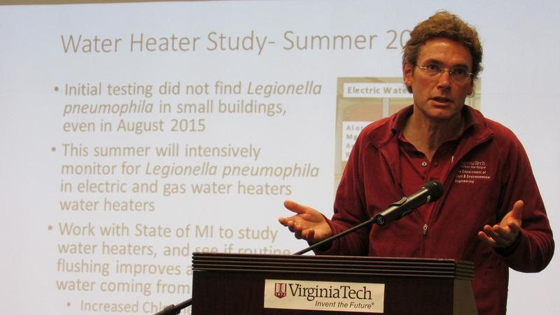 Virginia Tech professor Marc Edwards