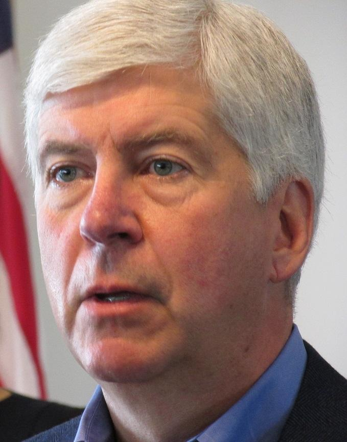 Photo of Gov. Rick Snyder