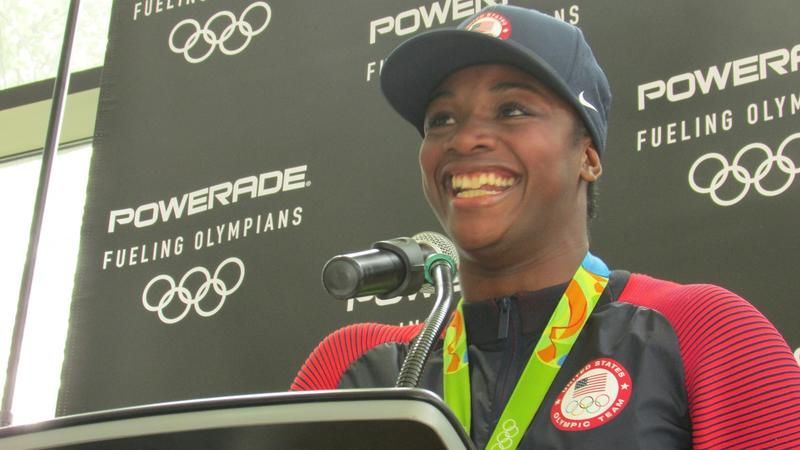 2-time Olympic gold medalist Claressa Shields