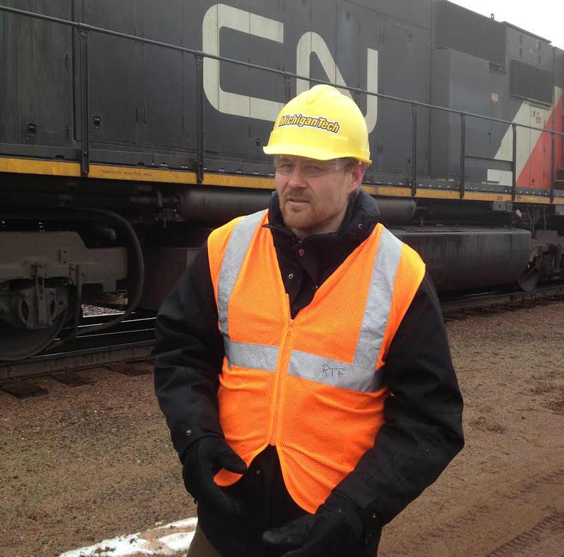 Pasi Lautala directs the Rail Transportation Program at Michigan Tech