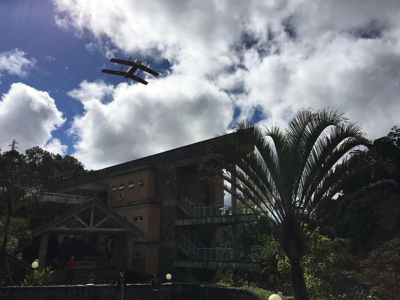 On July 27, Vayu's fully autonomous drone transported clinical lab samples from a remote village in Madagascar to a laboratory for testing.
