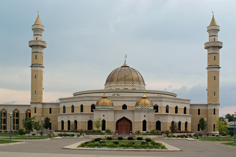 A mosque located in Warrendale, Detroit.