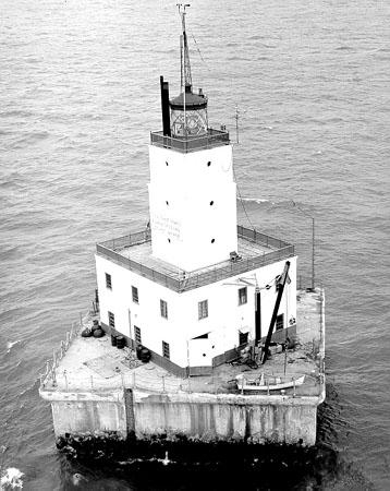 The North Manitou Shoal Light in Lake Michigan is being auctioned.