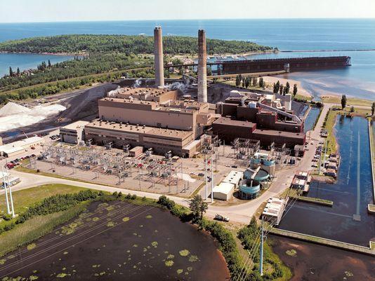 Presque Isle power plant in the U.P.
