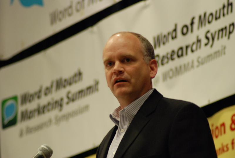 Ron Fournier at the Word of Mouth Marketing Association Research Symposium in 2006.