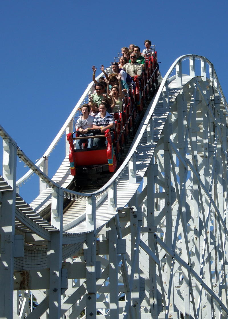Roller coasters may help you get rid of kidney stones.