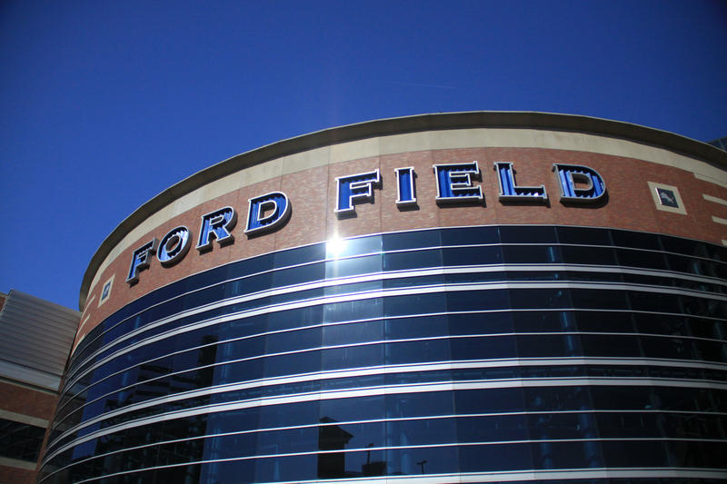 The Detroit Lions home field, Ford Field