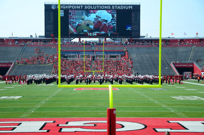 High Point Solutions Stadium in Piscataway, N.J. was the site of one of Michigan's most lopsided wins in program history, 78-0 over Rutgers.