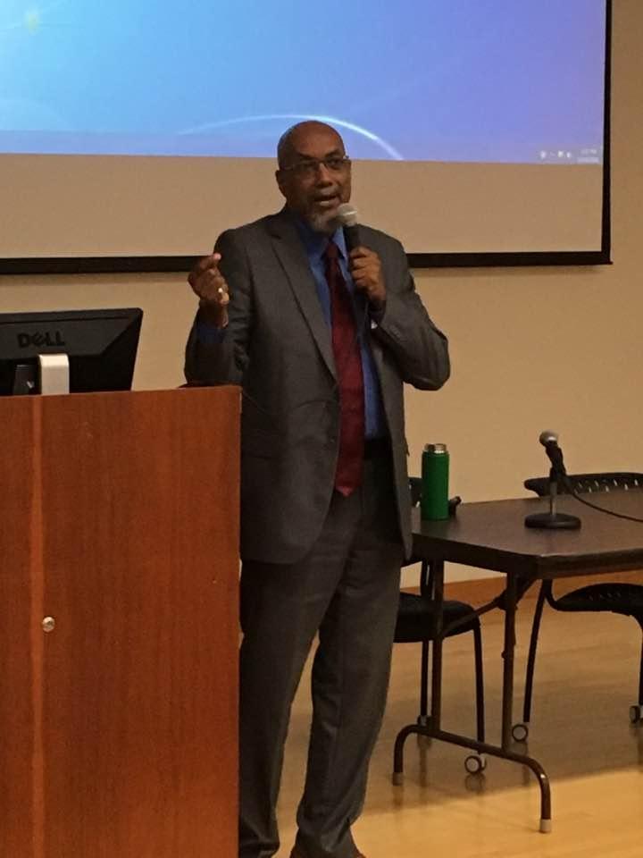 Ajamu Baraka at Wayne State University.