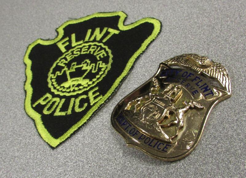 Chief Johnson says these old badges were found in storage