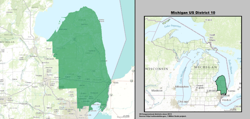 Michigan's 10th Congressional District.