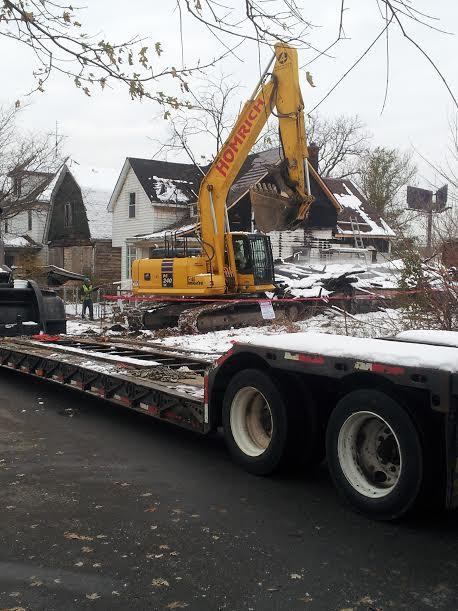Under Mayor Mike Duggan, Detroit has used federal anti-blight funds for an aggressive demolition campaign.