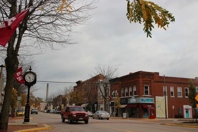 Downtown Eaton Rapids, in Michigan's 7th Congressional District, a race that's become one of the most expensive in the state.