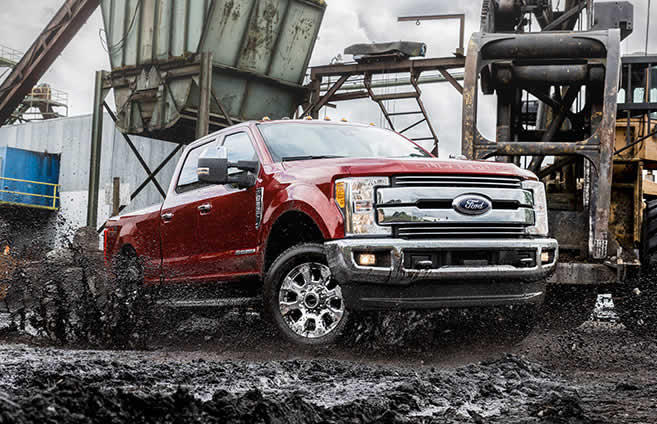 2017 Ford Super Duty pickup