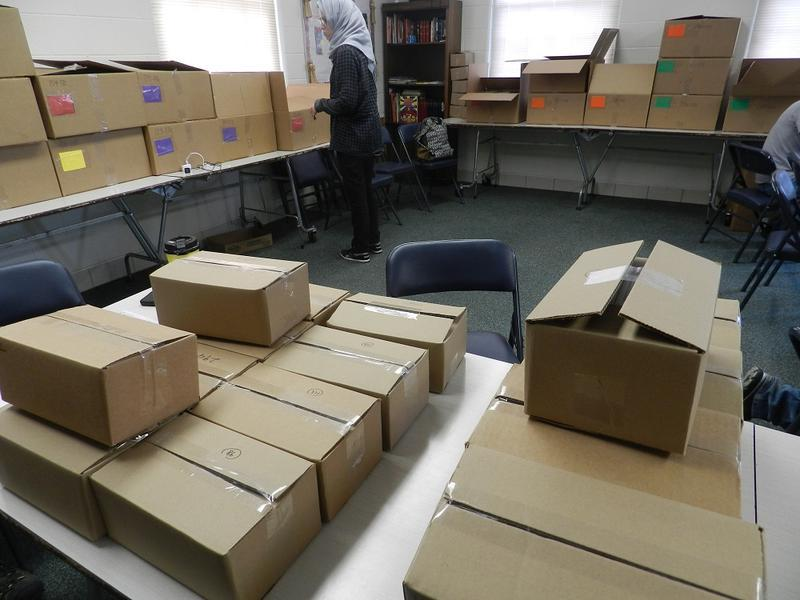 Back in March, boxes containing testing kits filled a room in the Bethel United Methodist Church in Flint.