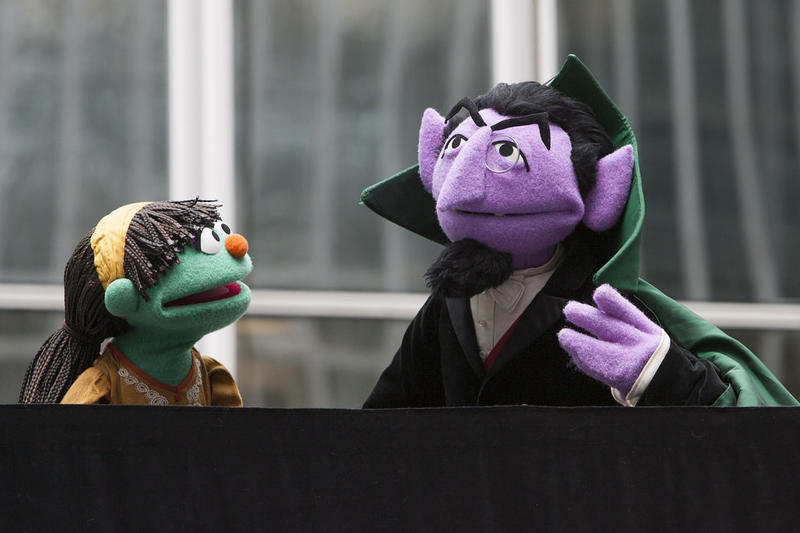 The Count from Sesame Street.