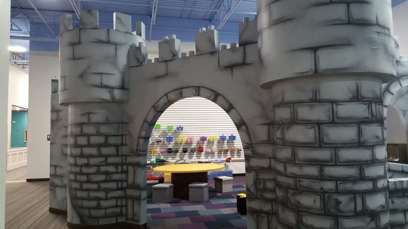 A peek into the LEGO castle