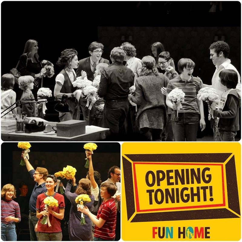 """Fun Home"" was nominated for 12 Tony Awards and won five."