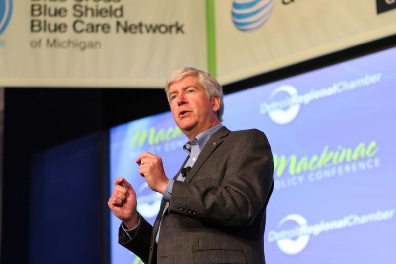 Michigan Governor Rick Snyder has often sought to entice Chinese business investment in Michigan