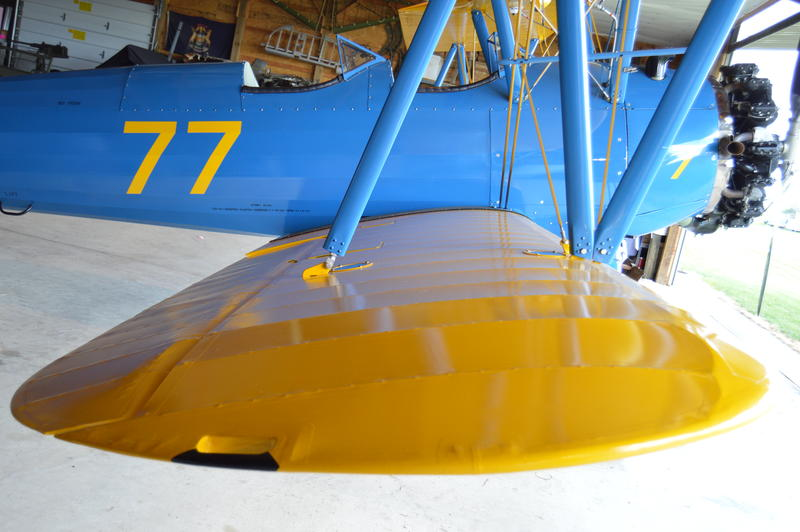 Dave Grow actually builds the wings in his shop for his planes and others across the nation.