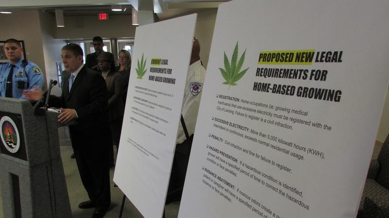 Lansing Mayor Virg Bernero proposes changes to the city's medical marijuana rules