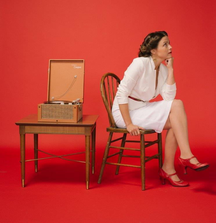 """The cover photo of May Erlewine's unconventional holiday EP, """"The Little Things."""""""