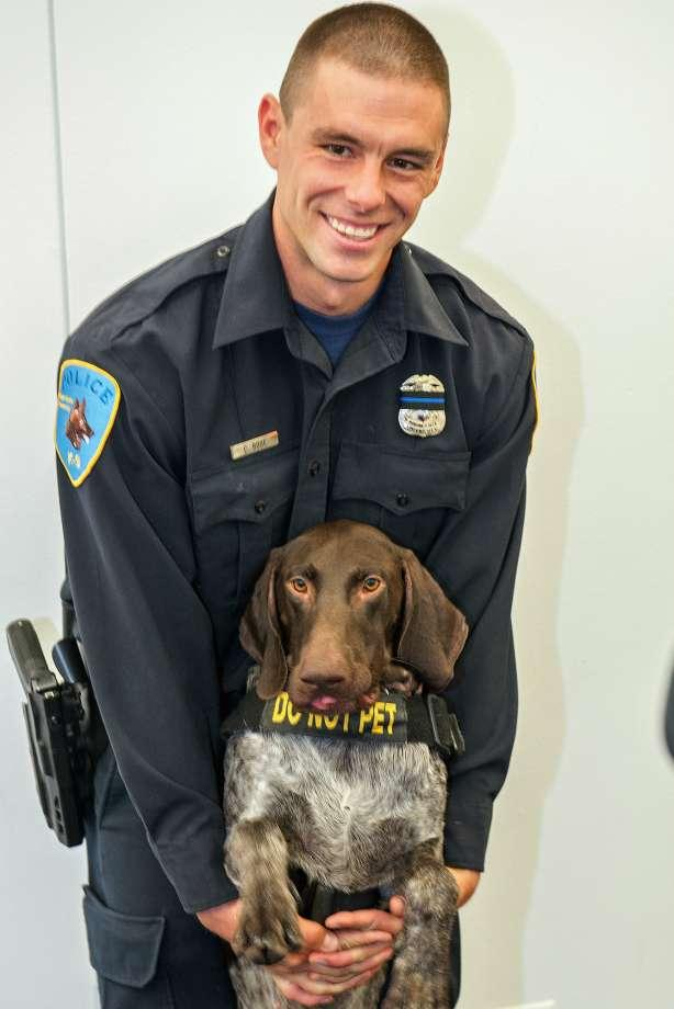 Collin Rose, 29, was on the K-9 unit of the Wayne State University police force.
