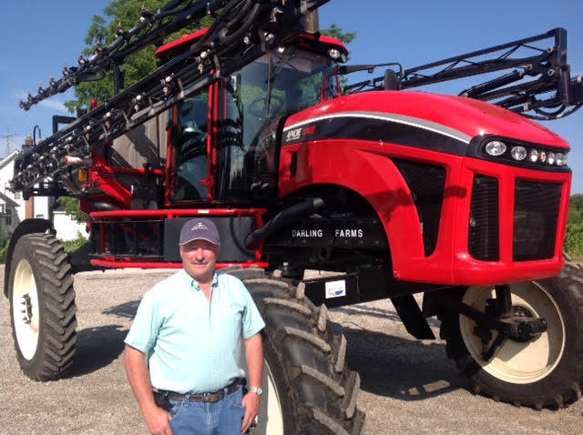 Doug Darling is a farmer who lives in Maybee, Michigan.
