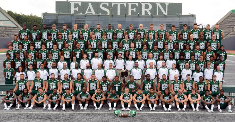 The 2016 EMU Eagle football team.