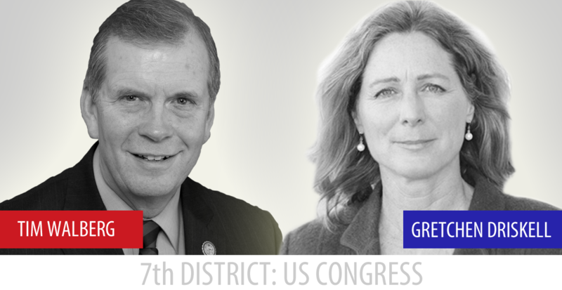 Republican incumbent Tim Walberg beat Democratic challenger Gretchen Driskell in 2016. Now, Driskell is announcing she'll run again in 2018.
