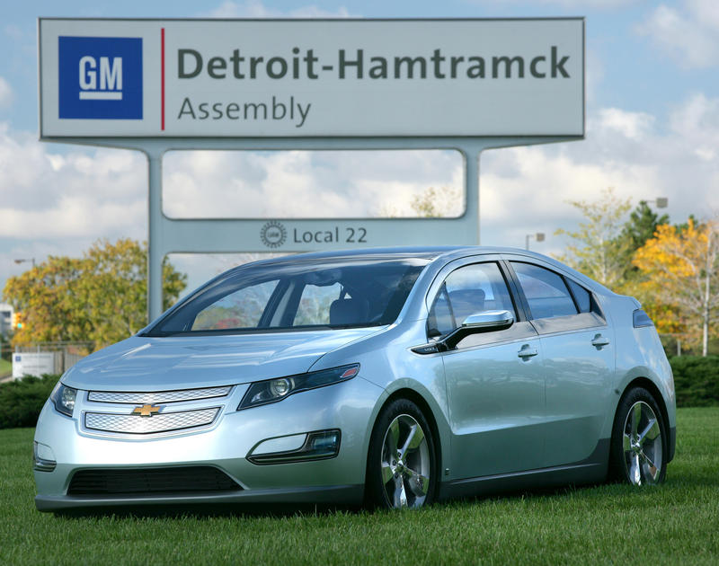 The Detroit-Hamtramck Assembly Plant has been producing the Chevy Volt since 2011.