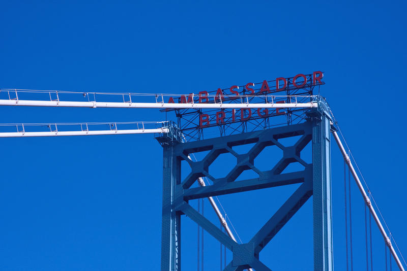 The Ambassador Bridge could have a new neighbor (the Gordie Howe International Bridge) by early 2022.