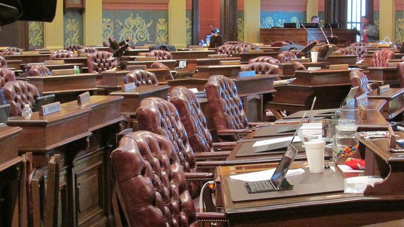 Michigan State House chambers