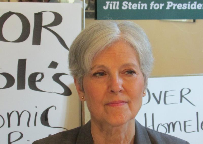 Green Party 2016 presidential nominee Jill Stein