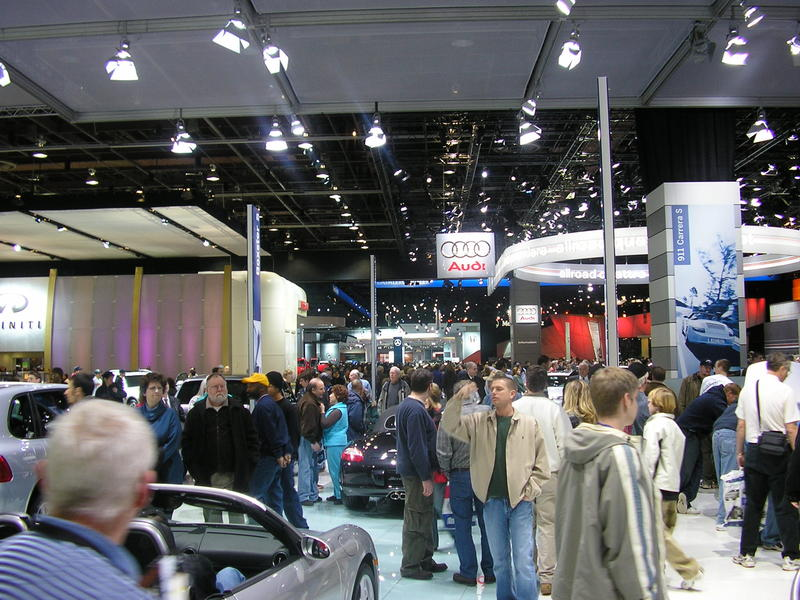 Scene from 2005 NAIAS