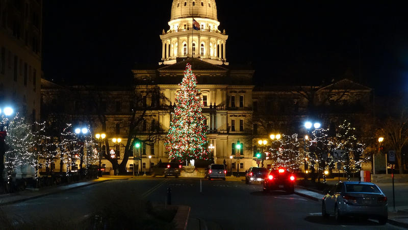 Lansing Capitol in December 2015.