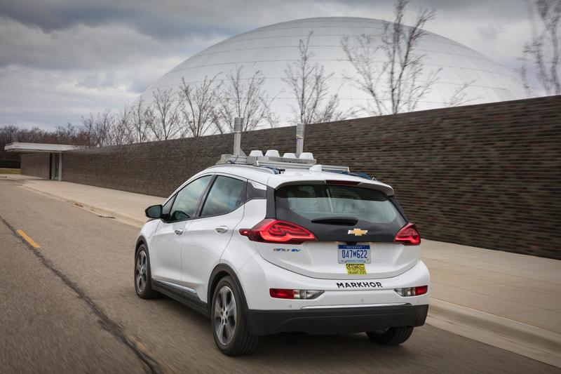 A self-driving version of the Chevy Bolt