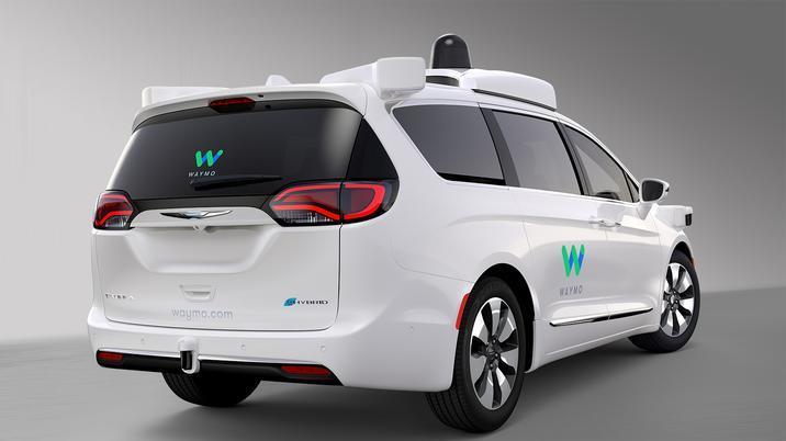 Chrysler and Waymo teaming up on self-driving minivans